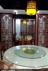 咸阳430平中式炒菜馆商铺装修效果图