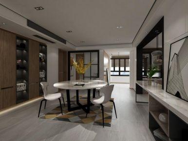 南通极简风格四居室装修案例展示