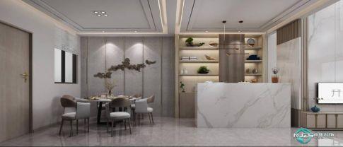 揚州現代風格四居裝修,彰顯低調中的奢華