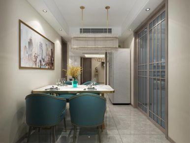 南通新中式风格四居室装修案例