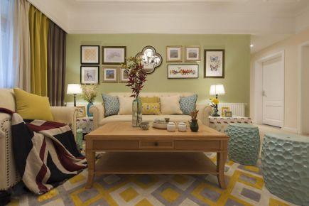 重慶【維享家裝飾】124平四居室美式風格混搭裝修
