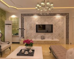 保定簡歐風格二居裝修,舒適與高雅并存!