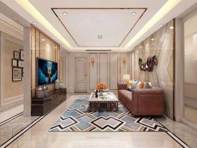 石家庄林荫大院现代轻奢二居装修,给你一个有质感的家!