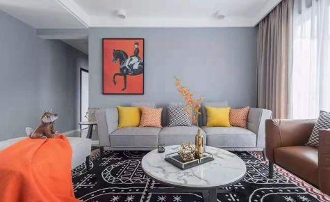 贵阳现代风格三居室装修效果图展示