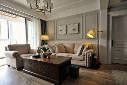 重庆【维享家装饰】120平三居室简约美式风格装修