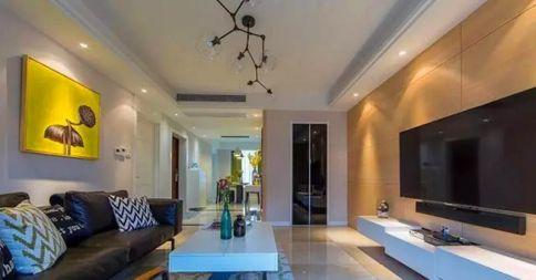 武汉简约现代风格二居装修效果图展示