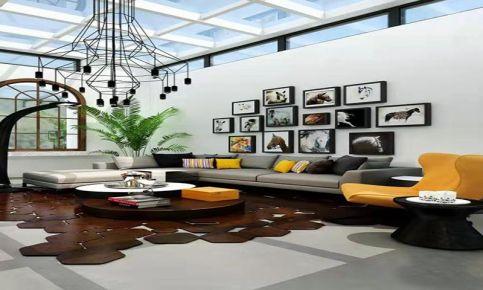 大連現代簡約復式裝修,個性獨特的時尚空間