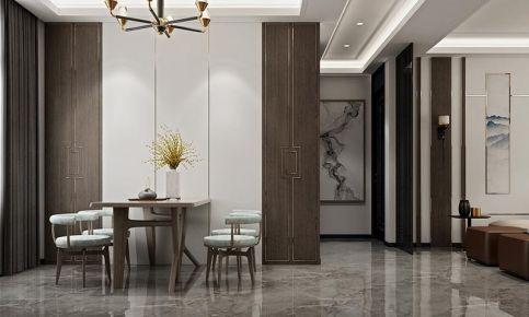 大连古典雅致新中式风格三居室装修案例