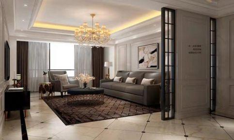 大连复古风格三室装修,质感十足