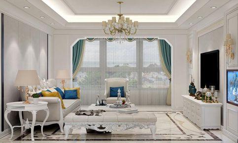大连欧式风格三室装修,别具一格的豪华气质
