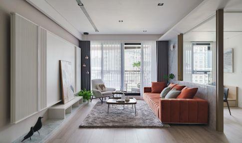 重庆维享家装饰111平三居室现代轻奢风格装修效果图