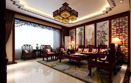 福州精致典雅中式风格复式装修案例
