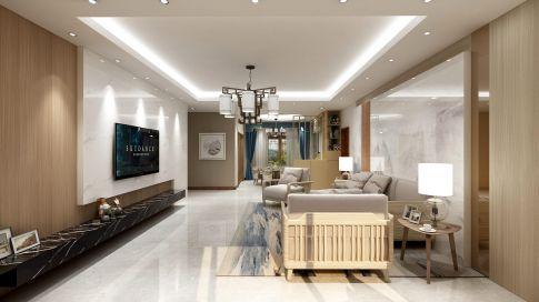 信阳新中式风格三室装修,中式韵味的全新演绎!