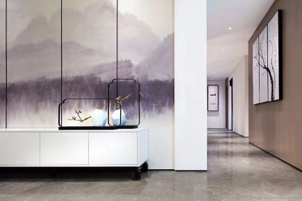 福州新中式三室装修设计,打造诗意生活
