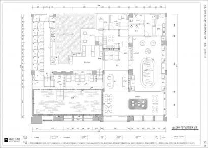 福州游泳池创意混搭风格商铺装修设计