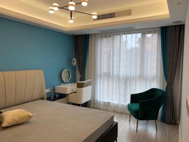 福州现代风格三室装修设计,既时尚又温馨!