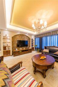 福州美式风格复式装修,邂逅浪漫古典的舒适家居