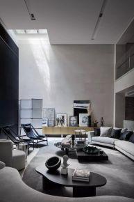 石家莊云鳴 Life|755㎡時尚輕奢現代風別墅裝修,演繹質感細膩生活