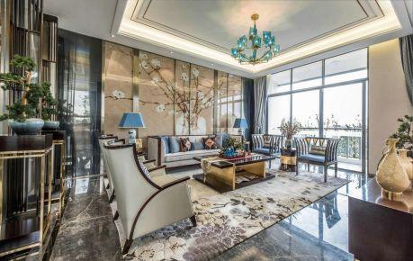 福州新中式风格别墅装修,简洁大气而又不失高雅精致