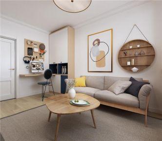 青岛浮山后北欧风格二居室装修案例图