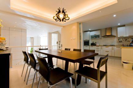 福州140平簡約現代風格復式裝修,質感十足的簡約空間!