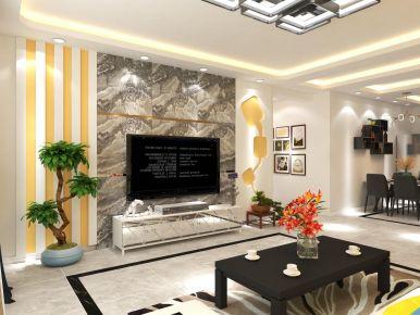 太原现代风格四居室装修案例,展现不羁的现代生活