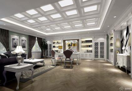 寧波奢華歐式風格別墅裝修效果圖