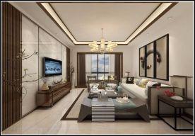 泉州古典雅致中式风格三室装修效果图