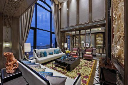 福州奢華大氣新中式風格別墅裝修效果圖展示