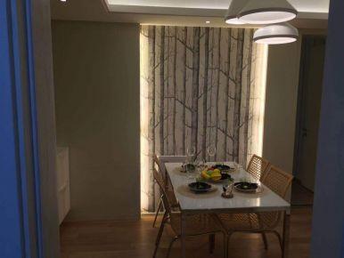 淮安现代温馨简约两室装修效果图案例