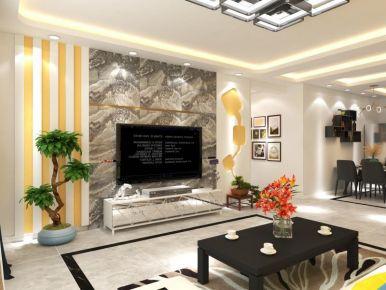 太原现代简约风四居室装修效果图展示