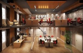 诚基大厦办公室设计