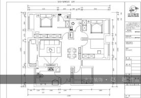 贵阳白云优品新城现代简约三居室装修效果图案例
