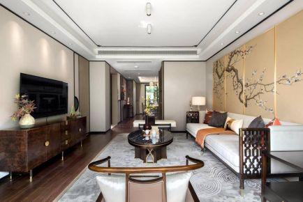 太原韵味十足的新中式风格四室装修案例设计