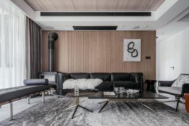 淮安绿地世纪城时尚现代风格三室装修案例