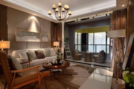 太原現代風格三室裝修,打造時尚優雅輕奢主義的家