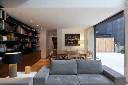 太原現代輕奢風格別墅裝修,整個空間充滿時尚感