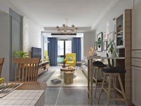 淮安书院名居北欧风格三室装修,邂逅撩动人心的理想生活!