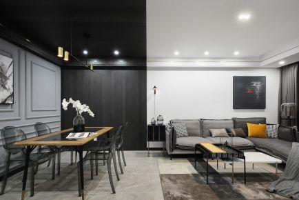 淮安優詩美地現代風格三室裝修,簡約時尚有品質