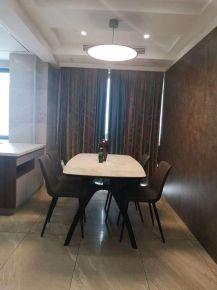 淮安宏元國際時尚輕奢現代風兩室裝修實景圖案例