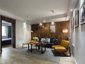 淮安东风花园老房改造 现代风格两室装修案例