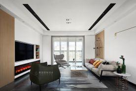 淮安中南世纪城丨充满活力的简约风三室装修