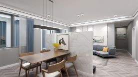 遵义现代北欧风格四室装修,生活也可以这样自然惬意!
