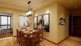 遵义优雅大气新中式风格三室装修案例