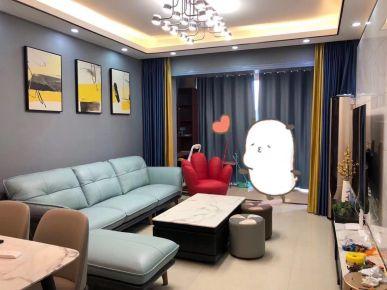廣州新塘現代簡約時尚風三居室裝修效果圖