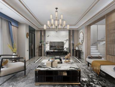 淮安琥珀美墅新中式风格装修,禅意风格,追求安静与质朴的情调