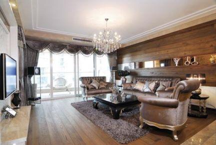 无锡欧式复古风四居装修,永不过时的优雅经典