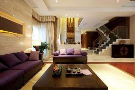 无锡新中式风格别墅装修案例,富有东方韵味的浪漫家居