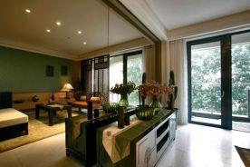无锡东南亚豪华风格四居室装修效果图