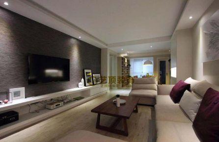 宜昌恒大绿洲北欧风格两室装修效果图
